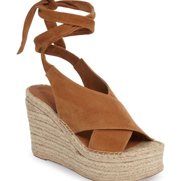 4968aa0a34f2 NWT Marc Fisher LTD Andira Platform Wedge Sandal